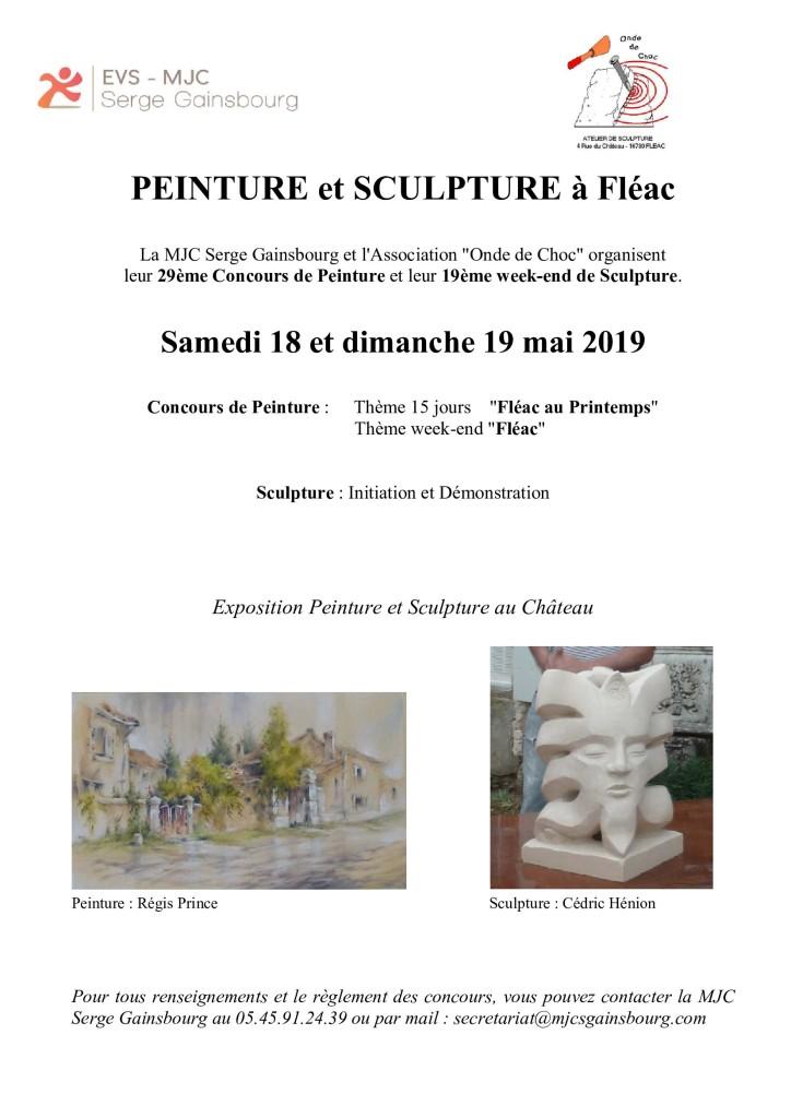 Affiche Peinture et Sculpture