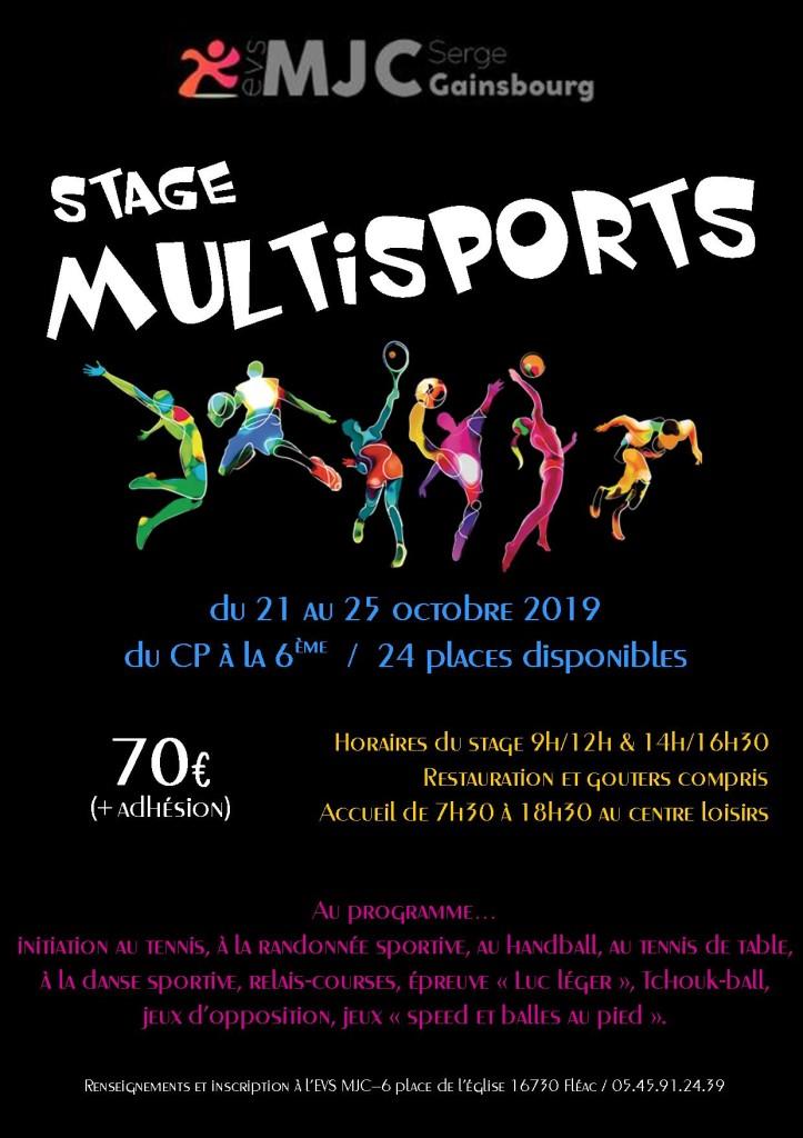 stage multisports 2019